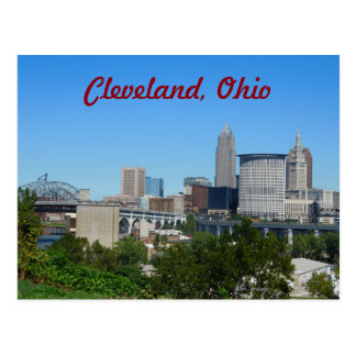 Classic Cleveland, OH Postcard