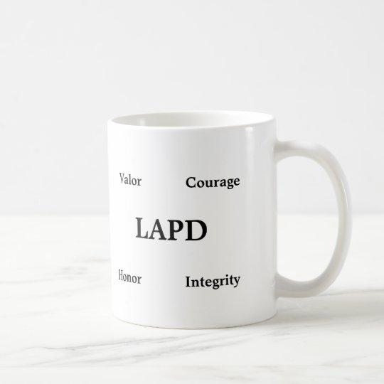 Classic Coffee Mug Honouring Los Angeles Police