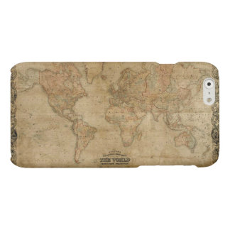 Classic Colton's Vintage Old World Map iPhone 6 Plus Case