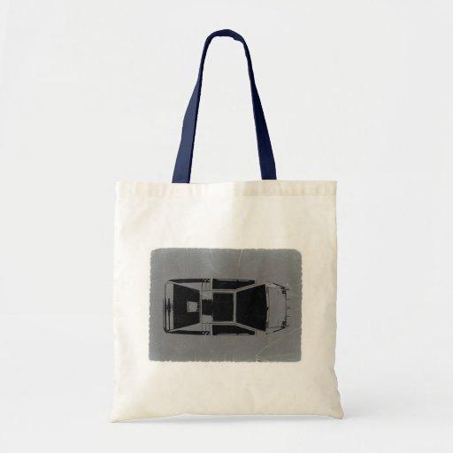 Classic Concept Car Budget Tote Bag