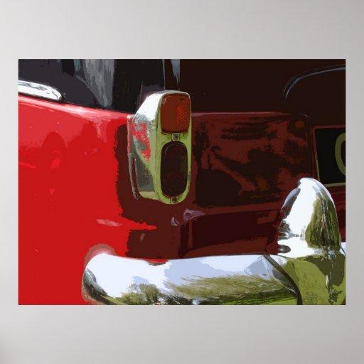 CLASSIC CONSUL (rear view) Print