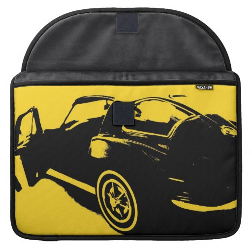 Classic Corvette 1963 Rickshaw Flap Sleeve MacBook Pro Sleeve
