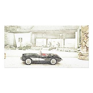 Classic Corvette Bookmark Picture Card