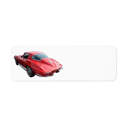 Classic Corvette Coupe