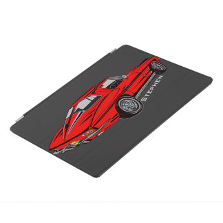 Classic Corvette Design iPad Cover