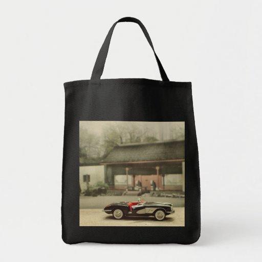 Classic Corvette Reusable Grocery Bag