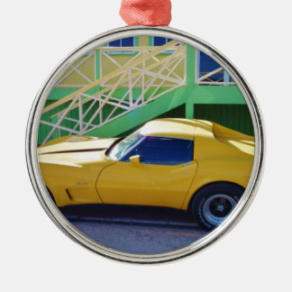 Classic Corvette Stingray. Christmas Ornament