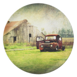 Classic Country Party Plates