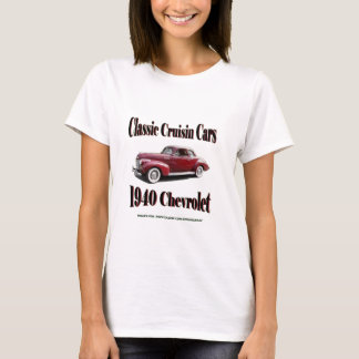 Classic Cruisin Cars 1940 Chevrolet T-Shirt