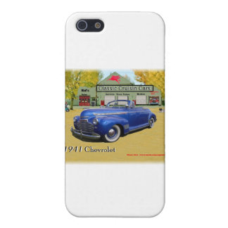 Classic Cruisin Cars 1941 Chevy iPhone 5 Cases