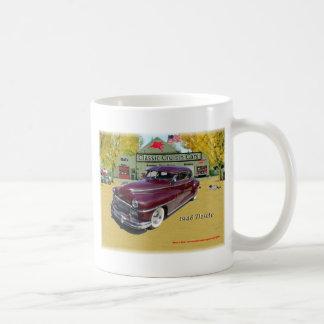 Classic Cruisin Cars 1948 Desoto Basic White Mug