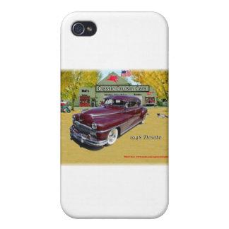 Classic Cruisin Cars 1948 Desoto iPhone 4 Covers