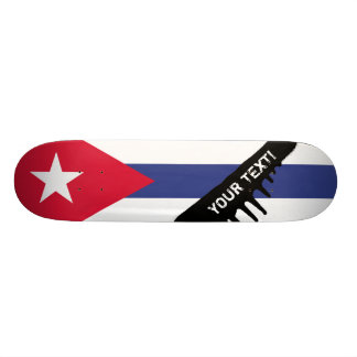 Classic Cuban Flag Skate Decks