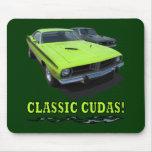 Classic Cudas Design Mouse Pad