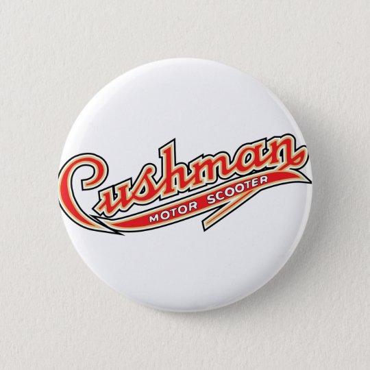 Classic Cushman Designs 6 Cm Round Badge