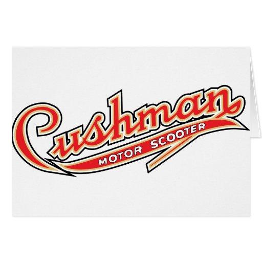 Classic Cushman Designs Greeting Cards
