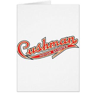 Classic Cushman Designs Greeting Card