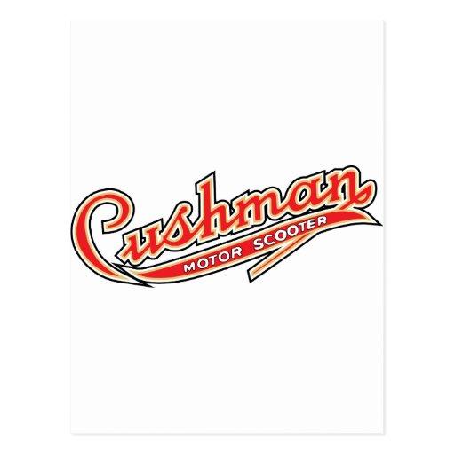 Classic Cushman Designs Post Card