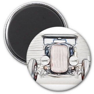 Old Classic Car Refrigerator Magnets Zazzlecouk - Custom car magnets uk
