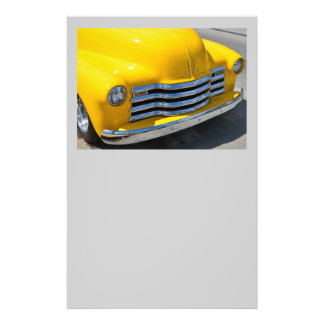 Classic Customized Pickup Truck Personalized Flyer