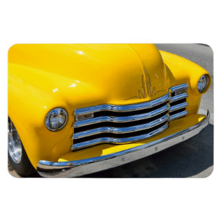 Classic Customized Pickup Truck Magnet