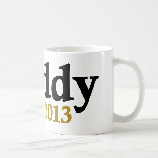 Classic Daddy Est 2013 Coffee Mug