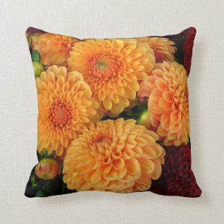 Classic Dahlia Accent Pillow