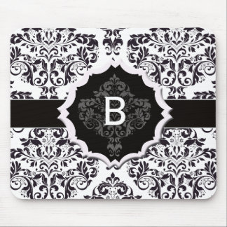 Classic Damask Mouse Pad