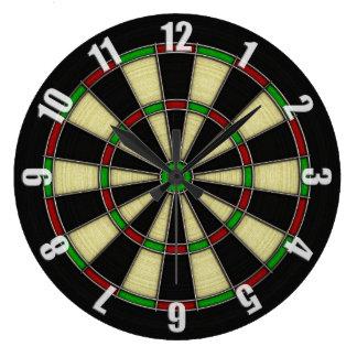 Classic Dart Board Design Wall Clock