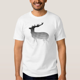 Classic deer silhouette tee shirt