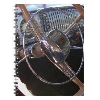 Classic Dodge dashboard. Notebooks