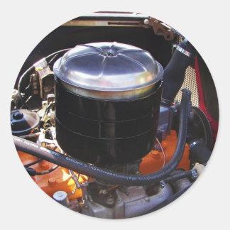 Classic Dodge Engine Bay. Sticker