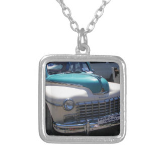 Classic Dodge. Silver Plated Necklace