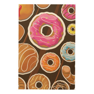 Classic Doughnut's Wood Prints