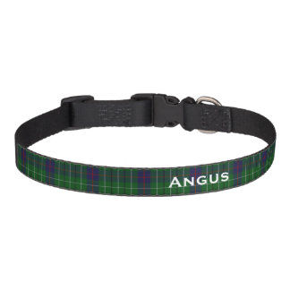 Classic Duncan Tartan Plaid Custom Dog Collar