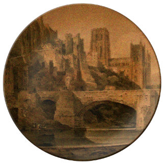 Classic Durham Cathedral Plate Porcelain Plate