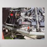 CLASSIC E-TYPE ENGINE PRINT