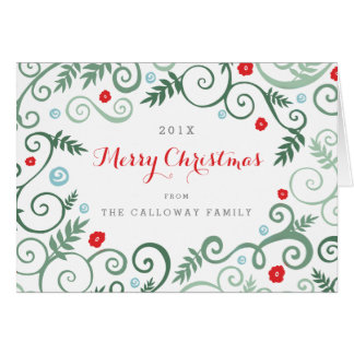 Classic Elegance Christmas Card