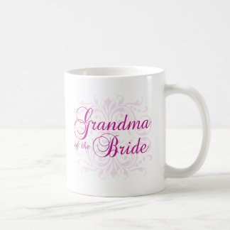 Classic Elegance Grandma of the Bride Basic White Mug