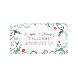 Classic Elegance Holiday Address Labels