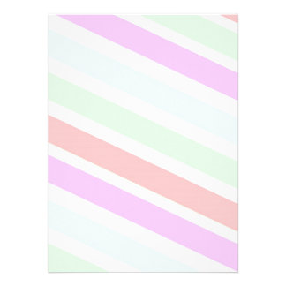 Classic elegant soft pastel colors stripes invites