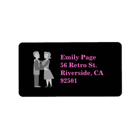 Classic Embrace Address Label