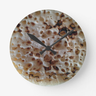 Classic English Crumpet Wall Clock