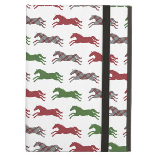 Classic Equestrian Christmas iPad Air Cover