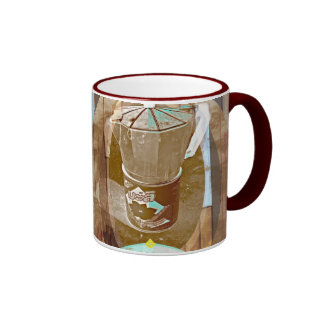 Classic Espresso Ringer Mug