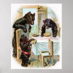 Classic Fairy Tales - Goldilocks & The Three Bears Poster