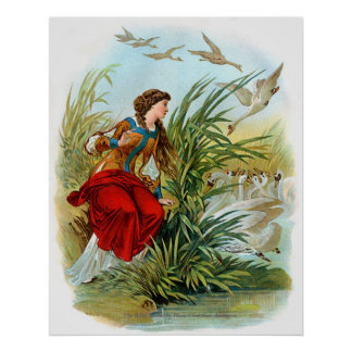 Classic Fairy Tales - The Wild Swans Poster