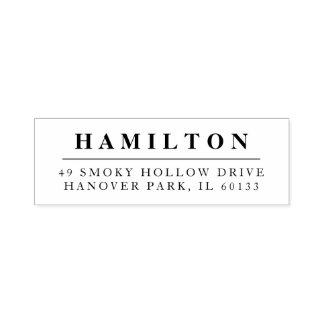 Classic Family Monogram Return Address Stamp