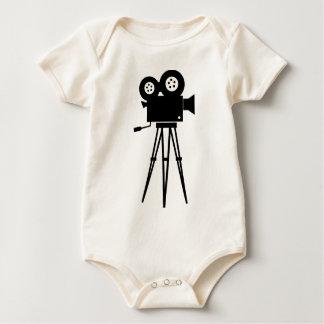 Classic Film Camera Baby Bodysuit
