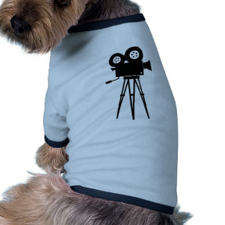 Classic Film Camera Dog Tshirt